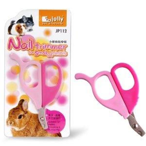 Jolly 小動物用按摩梳(粉藍/粉紅)